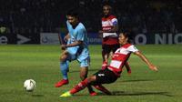 Persela Lamongan menelan kekalahan 1-5 dari Madura United pada pekan pertama Shopee Liga 1 2019, Jumat (17/5/2019) di Stadion Surajaya, Lamongan. (Bola.com/Zaidan Nazarul)