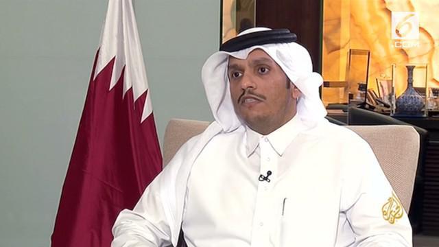 Menteri Luar Negeri Qatar, Seikh Mohammed membantah adanya pendanaan pada organisasi teroris.