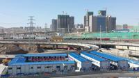 Stasiun kereta xinjiang (Liputan6.com/Arie Mega)