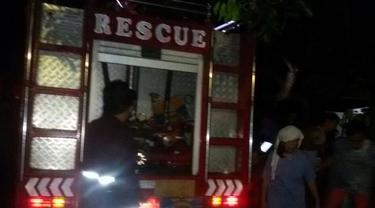 Kebakaran sebuah rumah terjadi di Desa Treman Jaga 7, Kecamatan Kauditan, Kabupaten Minut, Sulut.