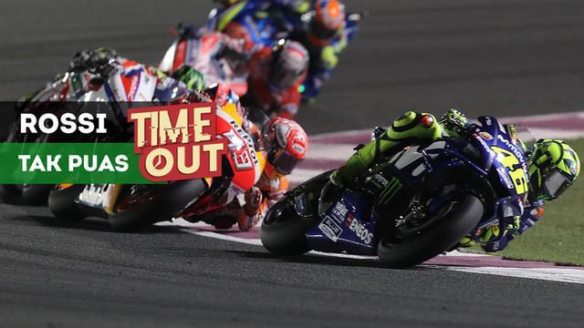 Berita video Time Out kali ini tentang pebalap Yamaha Movistar, Valentino Rossi, yang merasa Andrea Dovizioso dan Marc Marquez jauh lebih unggul dibanding motornya.