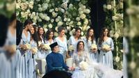 Pernikahan Sultan Muhammad V dari Malaysia dan Miss Moscow 2015 Oksana Voevodina (23/11) (Islamnews.ru / Russian Islamic Media Agency)
