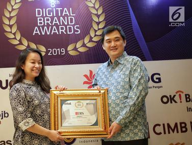 Bank DBS Terima Penghargaan The 8th Digital Brand Awards 2019