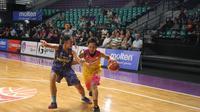 Surabaya Fever berhasil mempertahankan kesucian dengan memetik kemenangan atas Merpati Bali. (Bola.com/Andhika Putra)