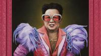 Seorang ilustrator bikin tokoh-tokoh dunia jadi nge-pink gitu. Lucu, deh. (Sumber foto: boredpanda.com)