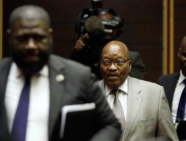 Mantan Presiden Afrika Selatan Kembali Jalani Sidang Kasus Korupsi