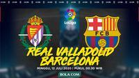 La Liga - Real Valladolid Vs Barcelona (Bola.com/Adreanus Titus)