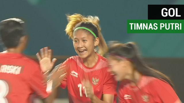 Berita video gol-gol Timnas sepak bola putri Indonesia saat menghadapi Maladewa di Asian Games 2018.