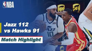 Berita Video Highlights NBA, Utah Jazz Raih Kemenangan Melawan Atlanta Hawks