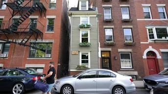 'Rumah Kurus' di Boston AS Ini Terjual Seharga Rp 17,8 Miliar