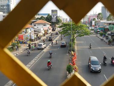 Jalur Sepeda di Jalan Margonda
