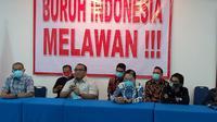 Serikat buruh siap mengajukan gugatanjudicial reviewterhadapUU Cipta KerjakeMahkamah Konstitusi(MK) (dok: KSPSI)