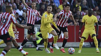 FOTO: Drama 6 Gol, Liverpool Tertahan di Kandang Brentford