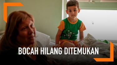 Seorang bocah laki-laki berusia 5 tahun terpisah dari keluarganya selama hampir 24 jam di Argentina. Ia bertahan hidup dengan makan rumput dan minum sungai.