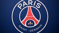 Logo dan ilustrasi PSG. (AFP/Franck Fife)