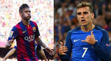 Neymar Jr vs Antoine Griezmann