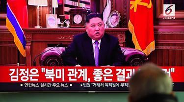 Pemimpin Korea Utara Kim Jong-Un memberikan pidato tahun baru 2019. Dalam pidatonya ia memberi perhatian pada hubungan antara Korea Utara dan Selatan.