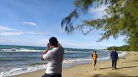 Pantai Libuo. Wisata pantai yang terletak di Kecamatan Paguat, Kabupaten Pohuwato (Arfandi Ibrahim/Liputan6.com)