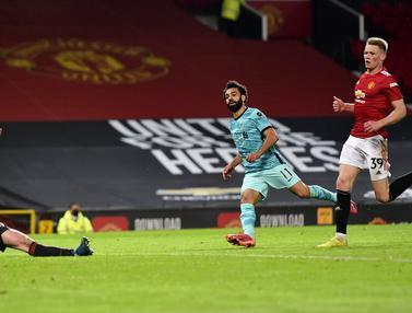 FOTO: Liverpool Lumat Manchester United di Old Trafford