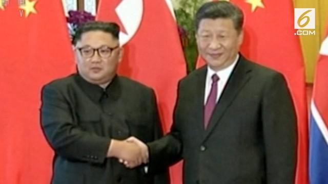 Pemimpin Korea Utara Kim Jong-un berkunjung ke China selama dua hari, yang dimulai pada 19 hingga 20 Juni 2018.