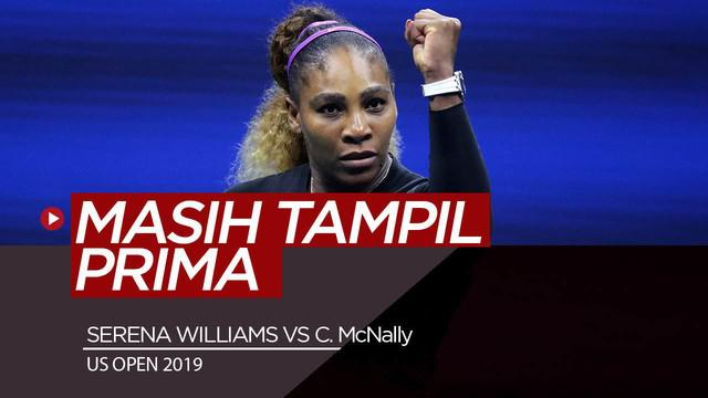Berita Video Menang di Putaran Kedua AS Terbuka 2019, Serena Williams Masih Prima di Usia 37 Tahun