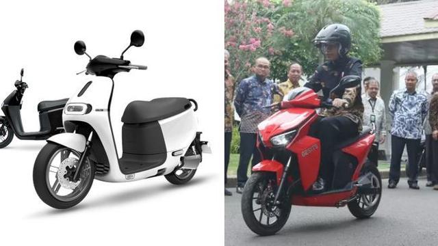 Membandingkan Motor Listrik Gesits Dengan Gogoro 2 Asal Taiwan Otomotif Liputan6 Com