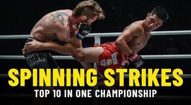 Berita Video 10 Serangan Berputar Terbaik di One Championship, Salah Satunya Saat Aung La N Sang Vs Brandon Vera