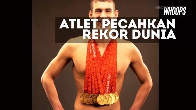 Rekor Olimpiade sebelumnya dipegang 2000 tahun lalu oleh Leonidas dari Rhodes pada tahun 164-152 sebelum Masehi.