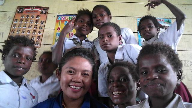 Kisah Guru Di Pedalaman Papua Rogoh Kocek Hingga Rp 5 Juta Untuk Ongkos Ke Kota Regional Liputan6 Com