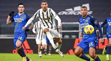FOTO: Juventus Lumat Udinese di Allianz Stadium, Cristiano Ronaldo Sumbang 2 Gol