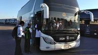 Suka duka menjadi sopir bus salawat antar jemaah calon haji di Makkah. (dream.co.id)