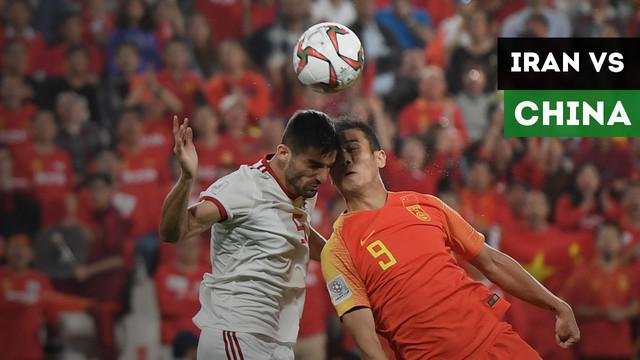 Berita video highlights pertandingan antara Iran Vs China di babak perempat final Piala Asia 2019 yang berakhir dengan skor 3-0.