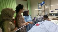 WK (14), siswa SMA Taruna Indonesia Palembang yang mengalami koma akhirnya meninggal dunia (Dok. Humas Pemprov Sumsel / Nefri Inge)