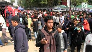 VIDEO: Indonesia Vs Palestina, Warga Serbu tiket Nonton