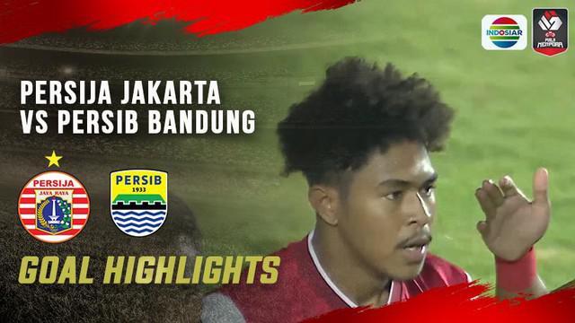 Berita video 2 gol Persija Jakarta yang terjadi cepat saat menghadapi Persib Bandung pada leg 1 Final Piala Menpora 2021, Kamis (22/4/2021) malam hari WIB.