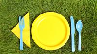 Ilustrasi sendok plastik (iStockphoto)