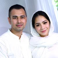 Raffi Ahmad dan Nagita Slavina menggelar pengajian empat usia kehamilan Nagita.