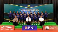 Pelepasan tim Indonesia untuk Piala Sudirman 2021, di Pelatnas PBSI Cipayung, Jakarta Timur, Senin (20/9/2021). (Media PBSI)