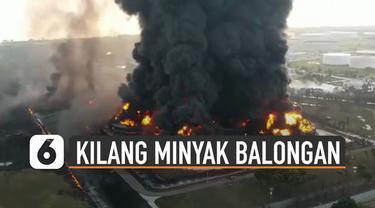 Senin (29/2/2021) dini hari, Indramayu dikejutkan dengan ledakan kilang minyak milik PT Pertamina RU VI Balongan. Kejadian itu terjadi saat hujan disertai petir melanda kawasan itu.
