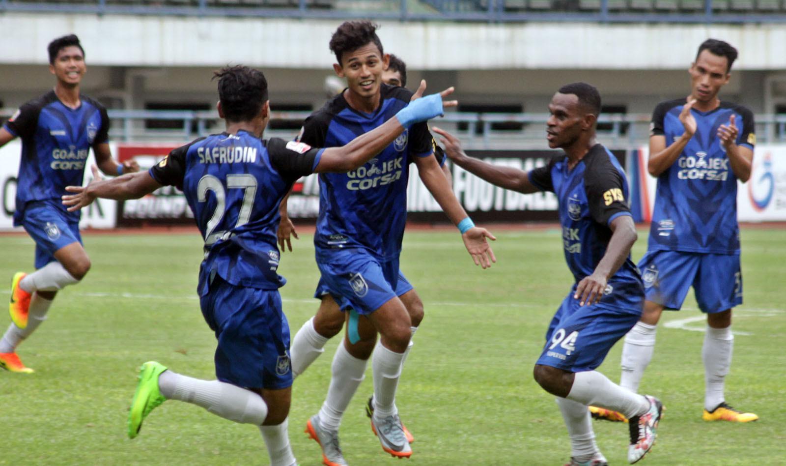 PSIS siap bertarung di Liga 1 2018. (Bola.com/Ronald Seger Prabowo)