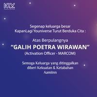 Selamat Jalan Galih Poetra Wirawan. (Fimela Pictures)