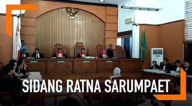Ahli digital forensik Saji Purwanto dihadirkan sebagai saksi atas perkara penyebaran berita bohong atau hoaks dengan terdakwa Ratna Sarumpaet di Pengadilan Negeri Jakarta Selatan, Kamis (25/4/2019).