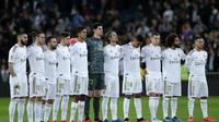 Skuat Real Madrid jelang lawag lawan Celta Vigo (AP Photo/Manu Fernandez)