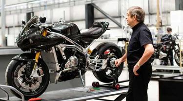 Pabrik baru Norton mampu memproduksi sebanyak 8.000 unit motor