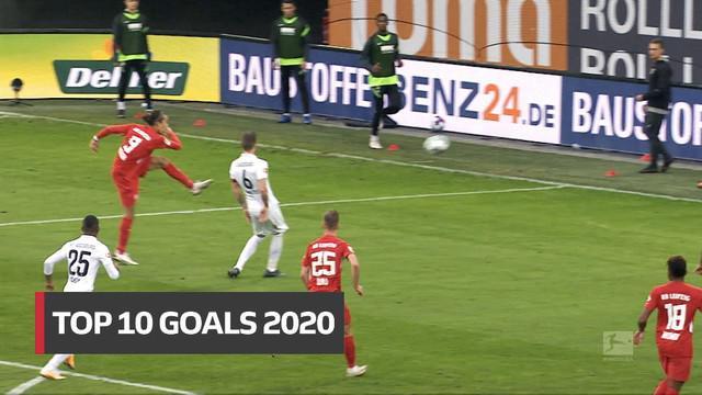 Berita video gol-gol terbaik yang tercipta pada 2020 di Bundesliga, termasuk 2 torehan indah dari bintang Bayern Munchen.