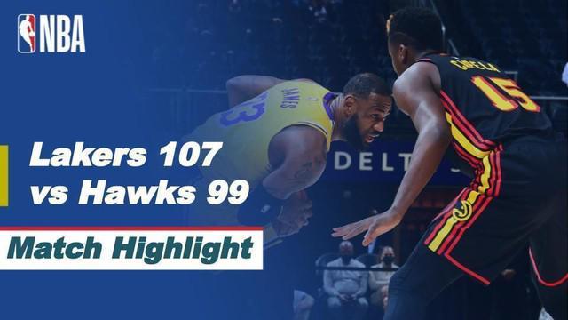 Berita Video LA Lakers Meraih Kemenangan di Kandang Atlanta Hawks