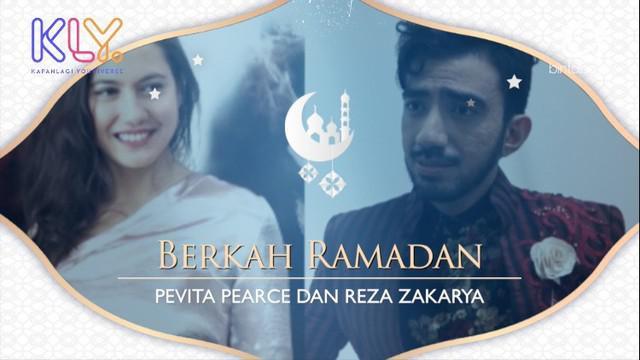 Meski sibuk di bulan puasa, namun Ini Makna Bulan Suci Ramadan yang penuh berkah untuk Pevita Pearce dan Reza Zakarya.