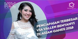 Senang dan bangga bawakan lagu 'Meraih Bintang', Via Vallen dapat pencapaian terbesar dalam karirnya di Asian Games 2018