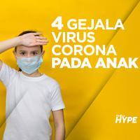 4 Gejala Virus Corona pada Anak