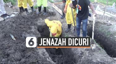 Warga Pare Pare Sulawesi Selatan digegerkan dengan raibnya 7 jenazah Covid-19 dari pemakamanan. Setelah diperiksa, hanya ditemukan peti jenazah yang sudah kosong.